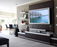 19 Wall Mounted Tv Designs – Decorating Ideas > Furniture > Home Revo.Com