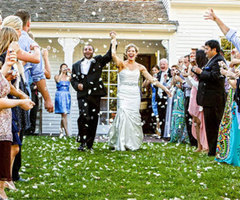 Massachusetts Home Wedding Reception