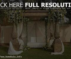 Romantic Home Wedding Decorations
