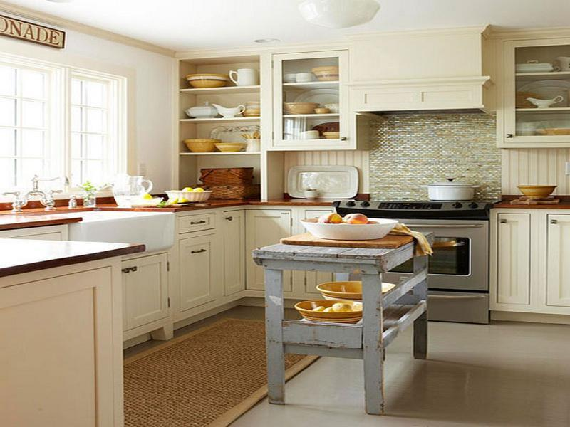 Kitchen island ideas for small kitchens design bookmark for Cute yellow kitchen ideas