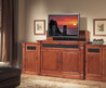 """Adonzo Tv Lift Cabinet With Side Cabinets For Flat Screen Tv's Up To 55"""""""