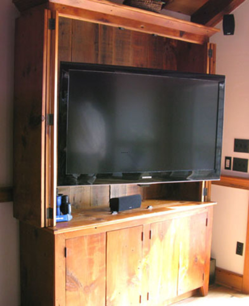 Tv Cabinets With Doors To Hide Tv