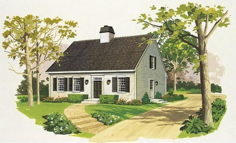 Cape Cod And New England Style Homes Design Bookmark 16844