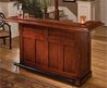 Hillsdale Classic Cherry Large Wrap Around Home Bar