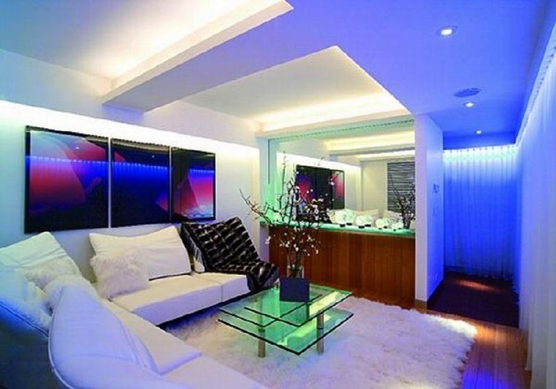 Led Light Home Interior Design Viahouse Com Design
