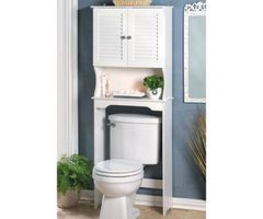 Wholesale Nantucket Bathroom Space Saver Over Toilet Storage Cheap