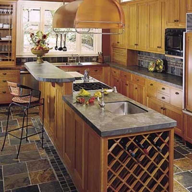 3d Sketch Small Kitchens And Islands: Cyber Log / Design Bookmark #16977