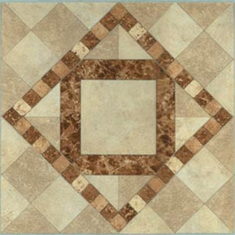 Classic kitchen interior architecture burlywood patterned for Tile patterns for kitchen floor