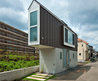 Small House Architecture Near River In Tokyo, Japan