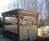 Timbertech Deck With Privacy Fence