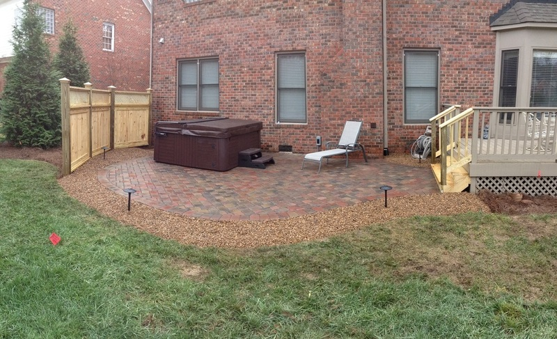 charlotte waxhaw weddington custom outdoor living areas On privacy fence around patio