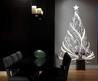 Vinyl Wall Decal Sticker Christmas Tree 6ft Tall Decor