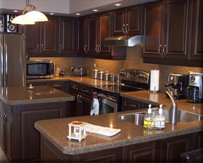 Photos of small kitchen remodels for Small kitchen redesign