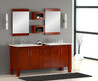 "72"" Double Sink Modern Bathroom Vanity"