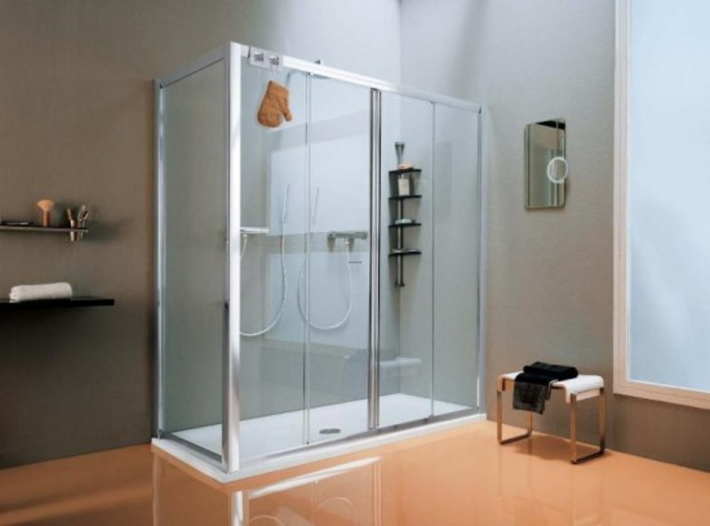 10 trendy shower designs for your bathroom design for Bathroom designs 7x8