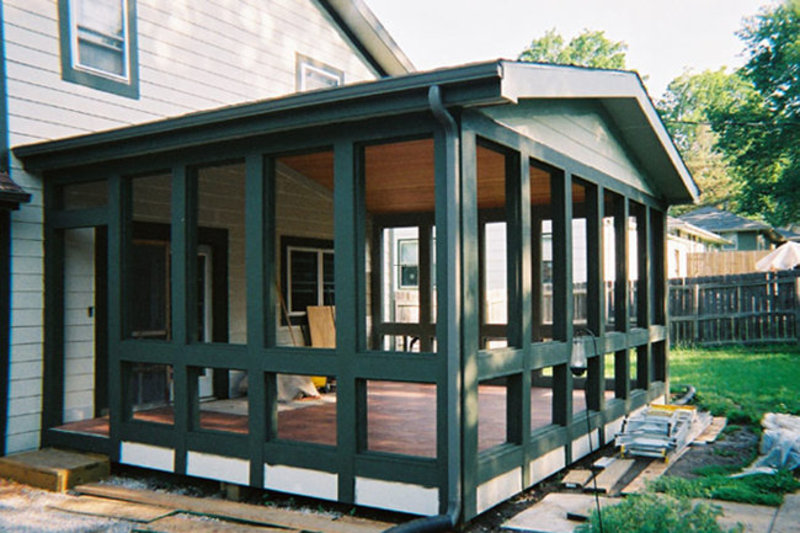 Trending enclosed patio design ideas patio design 44 for Enclosed porch plans free
