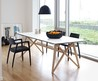 Butterfly Ash Modern Dining Table