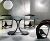 Modern Glass Dining Table On Pinterest
