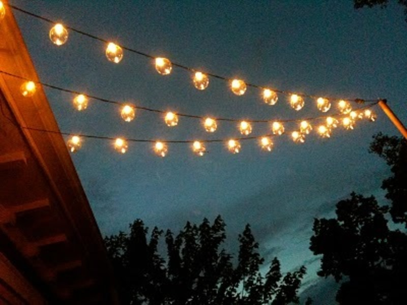 How To Hang String Lights Deck : Patio Lights Target Design Decor 310668 Decorating Ideas / design bookmark #17661