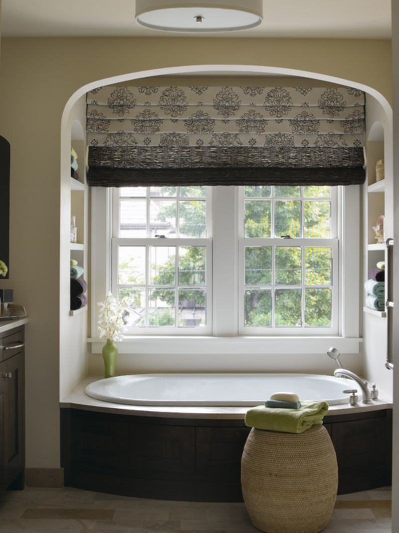 Picture 10 of 17 design bookmark 17726 for Window dressing ideas for bathrooms