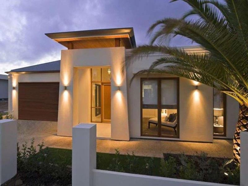 Some inspirational images about cool modern exterior for Building exterior lighting design