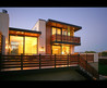 Marvelous Contemporary House Exterior With Modern Balcony Design Also Minimalist Wooden Balcony Railings Also Amusing Lighting Design Also Modern Exterior Wall Lights