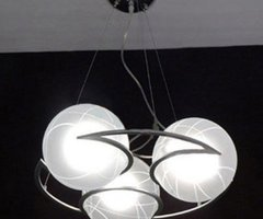 New Modern Glass Ceiling Lighting Chandeliers Light+Free Shipping From Wholesale In China