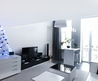 Laconic, Monochrome And Manlike Studio Apartment With Custom