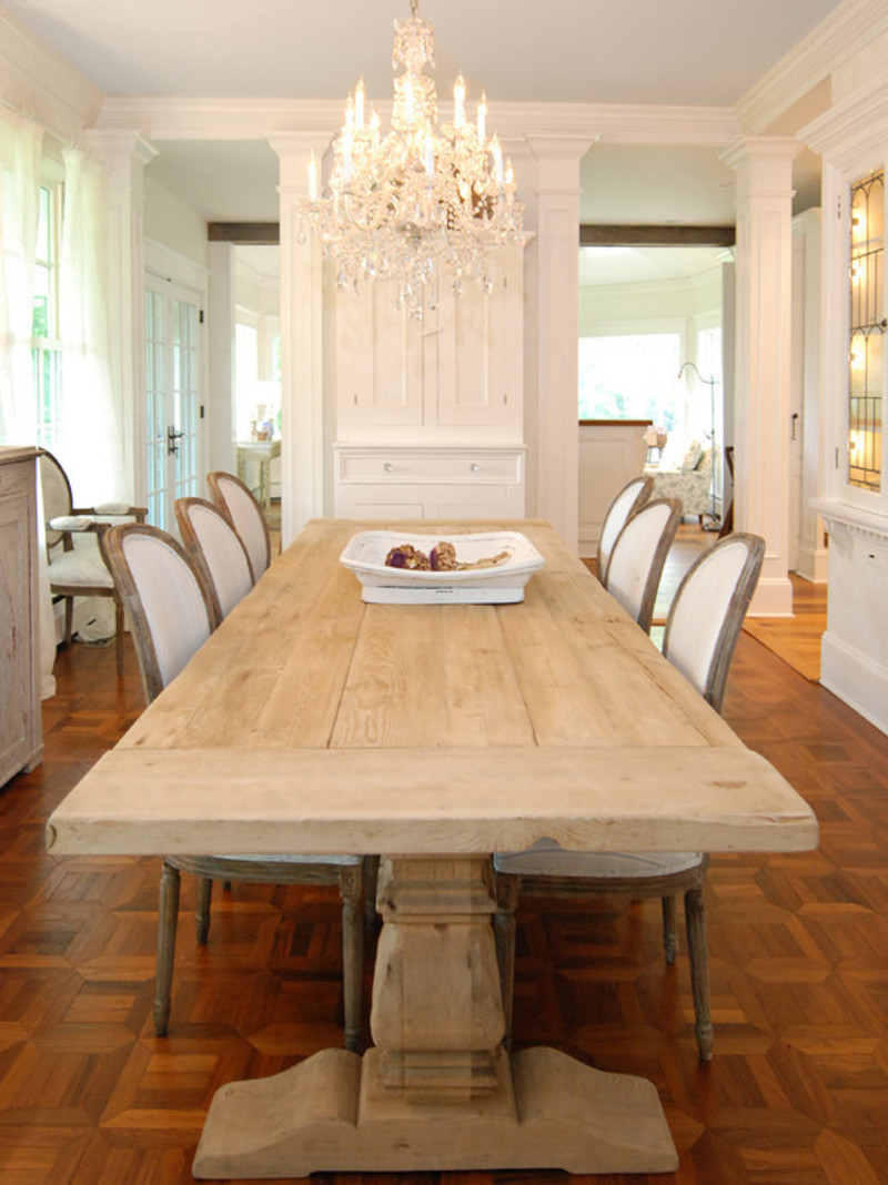 Dining room modern dining room pictures with awesome 10 12 for Farmhouse dining room table