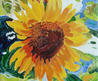 Sunflower Tile  By Susan Duda