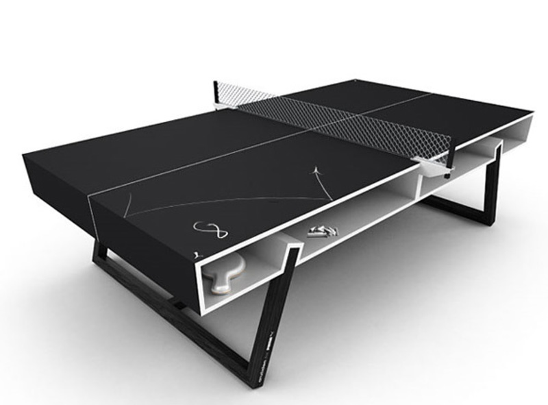 James de wulf ping pong dining table at werd com design - How much does a ping pong table cost ...