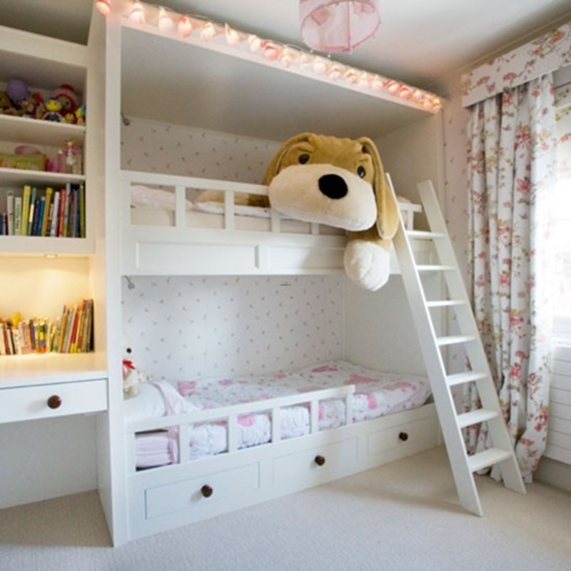 Bunk Bed Bedroom Ideas Mustard Bedroom Accessories Uk Bedroom Black Wallpaper Bedroom Cupboards Fourways: Girls' Room Bunk Beds / Design Bookmark #17959