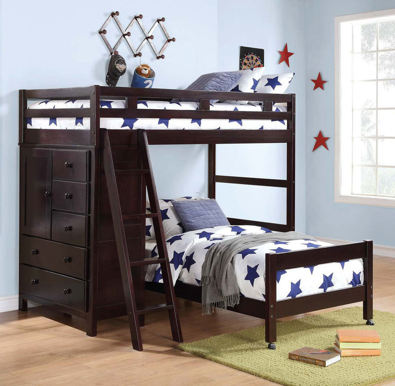 Amazing white space saving bunk bed design inspiration - Space saving bunk beds for small rooms ...