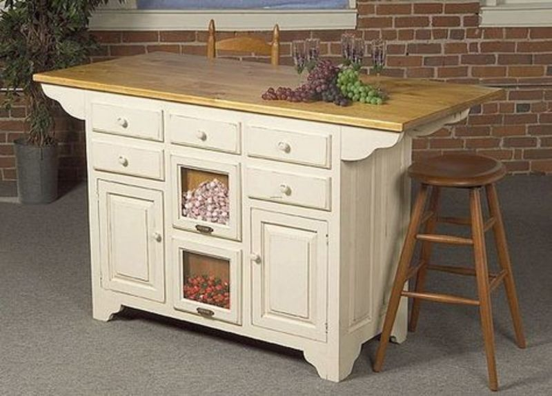Kitchen islands on pinterest design bookmark 18044 - Mobile kitchen island plans ...