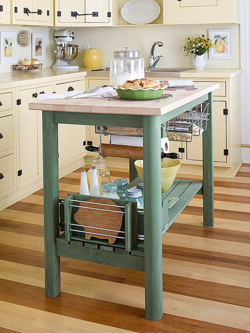 Small Kitchen Islands, 48 Amazing Space