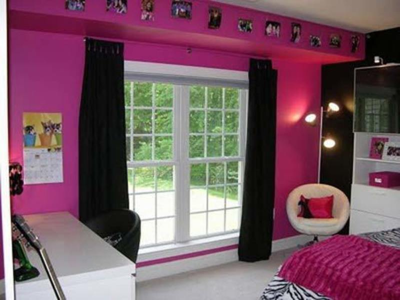 Cute pink rock girl bedroom ideas decodir design Cute bedroom wall ideas