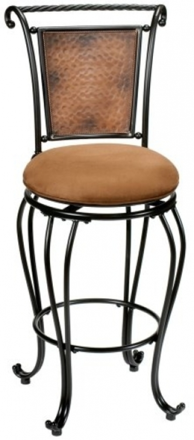 High Back Swivel Bar Stool Design Bookmark 18084