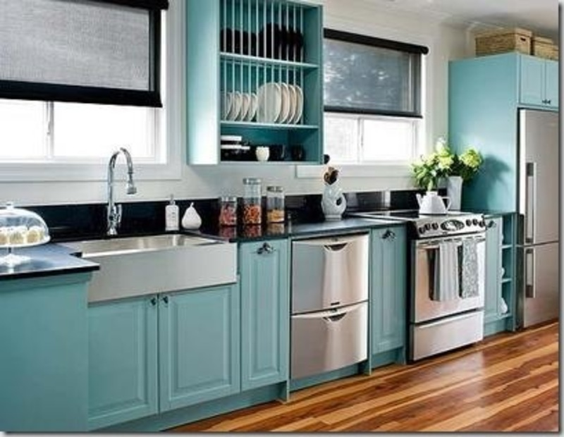 Clean stainless steel kitchen cabinets ikea design for Stainless steel kitchen cabinet price