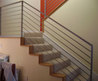 Pix For > Modern Stair Railing