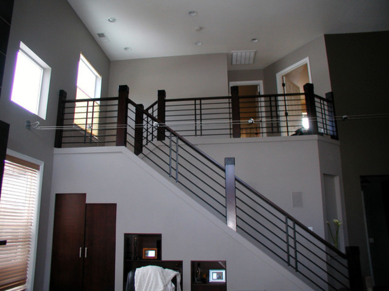 Stairs railing modern railing spindles and newel posts for stairs on