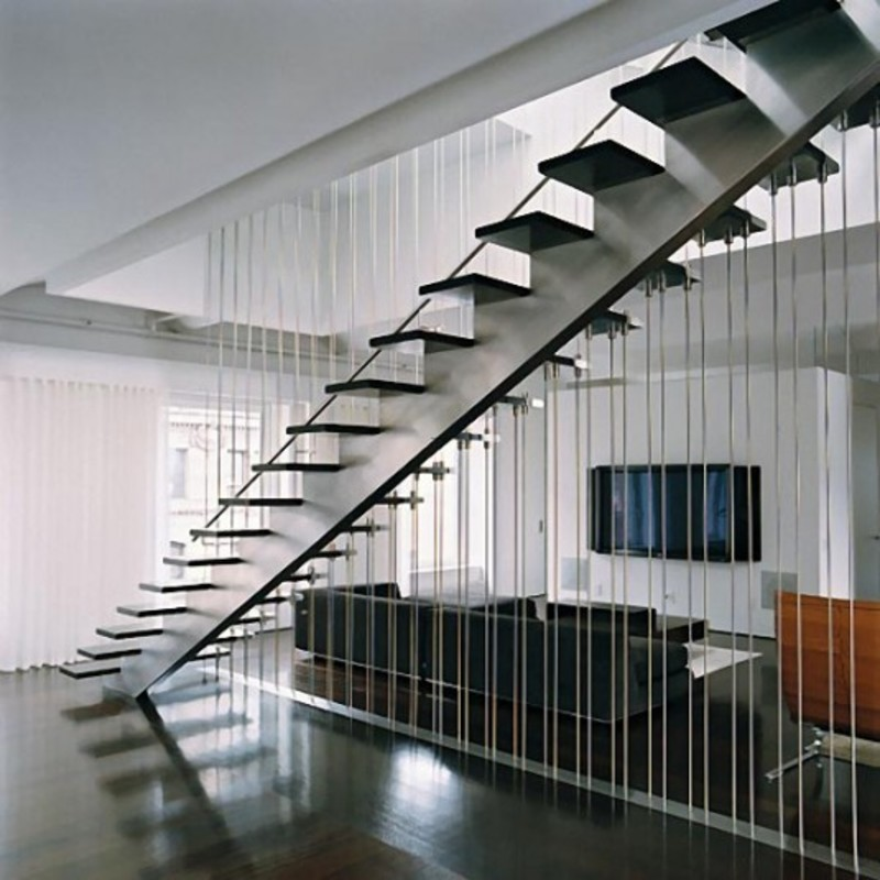 Modern loft interior design stairs modern loft interior for Stair designs interior