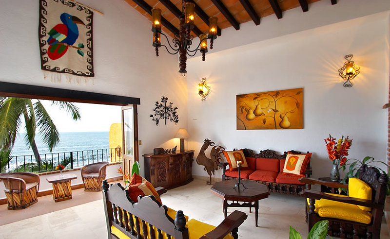 Mexican Style Living Room Design Design Bookmark 18193