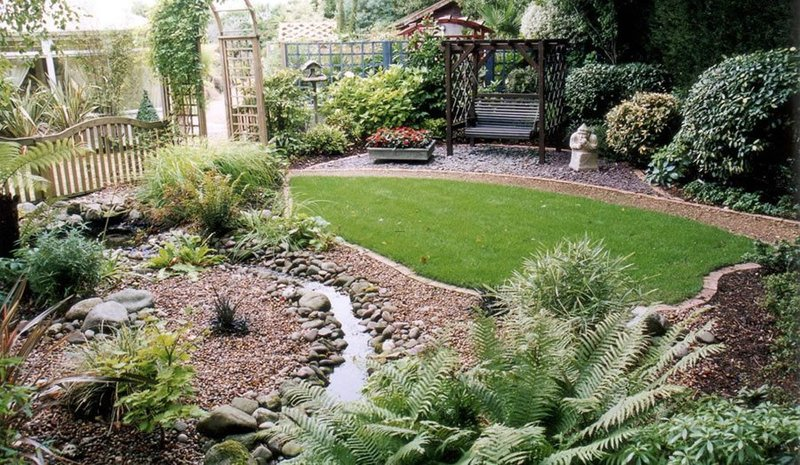 Small Garden Ideas, Interesting Backyard Landscaping Ideas On Small Garden Ideas