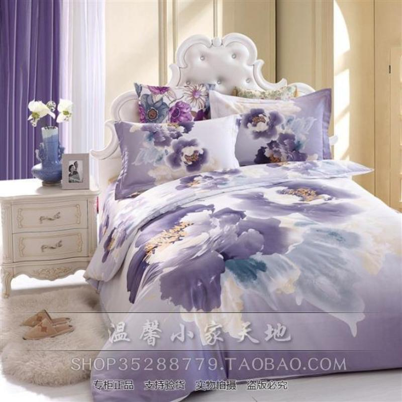 3 D Butterfly Blue Bedding Comforter Set Queen Size