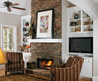 30 Stone Fireplace Ideas For A Cozy, Nature