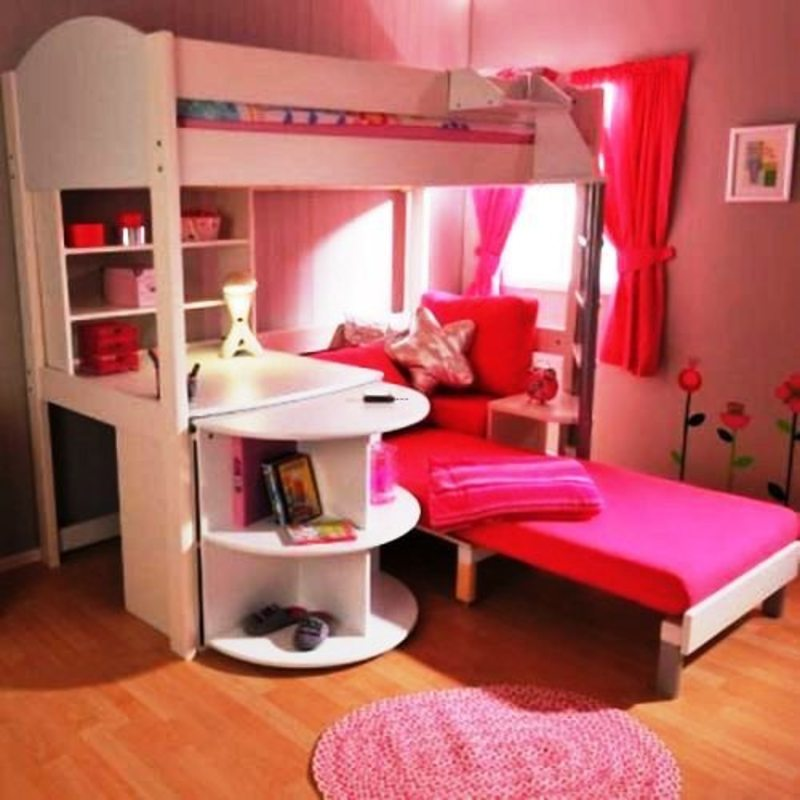 Kid bunk beds with desk design bookmark 18438 Kids loft bed with desk
