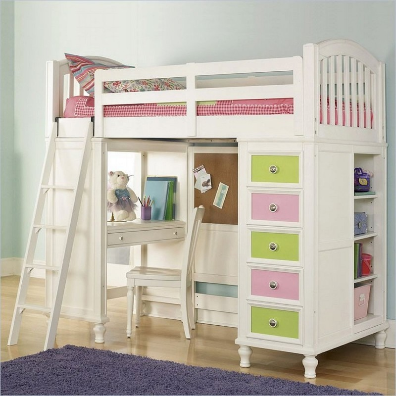 Pics for kids loft beds with desk design bookmark 18449 Kids loft bed with desk