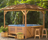 Lovely Gazebos Hot Tub Enclosures