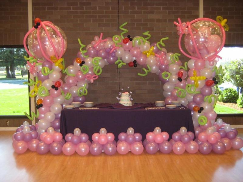 balloon decorations baby shower ideas on pinterest