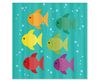 Fish School Kids Shower Curtain